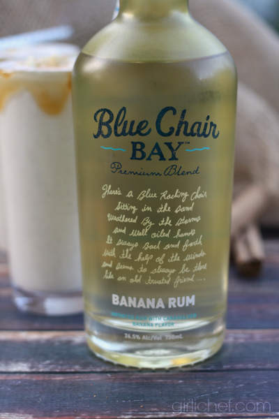 Blue Chair Bay Banana Rum Giveaway + Boozy Bananas Foster Milkshakes | allroadsleadtothe.kitchen