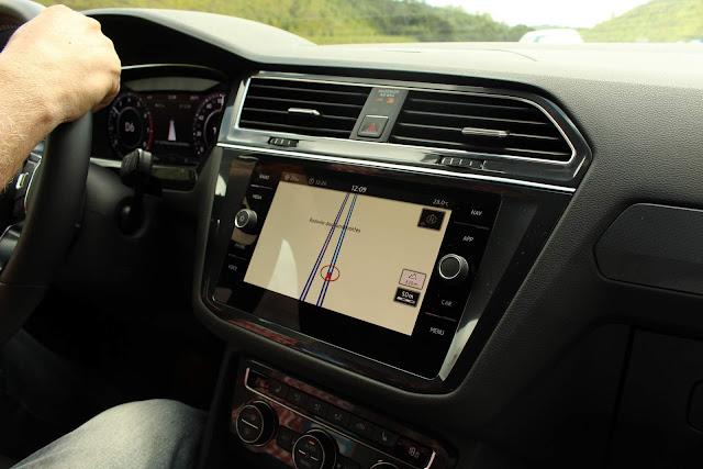 VW Tiguan 350 TSI R-Line 2019 - interior