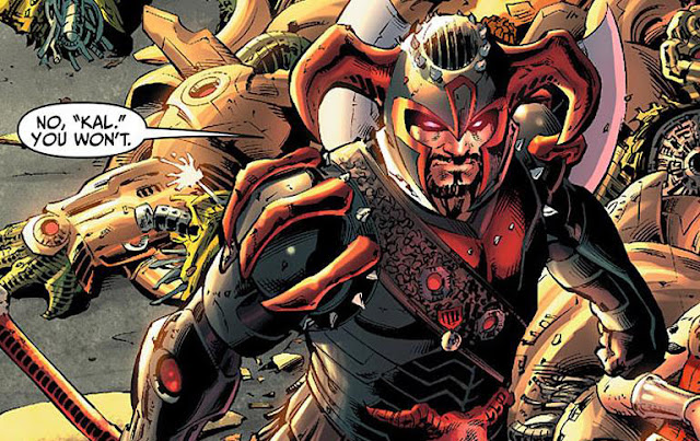 profil kekuatan steppenwolf vs justice league