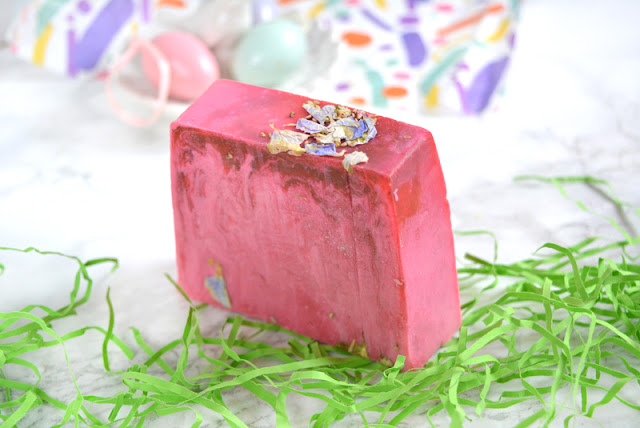 Lush Mother's Day 2018 Raspberry Milkshake Soap