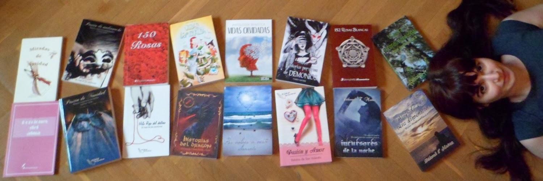 con todos mis libros