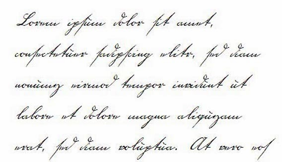 Pretty Handwriting Fonts