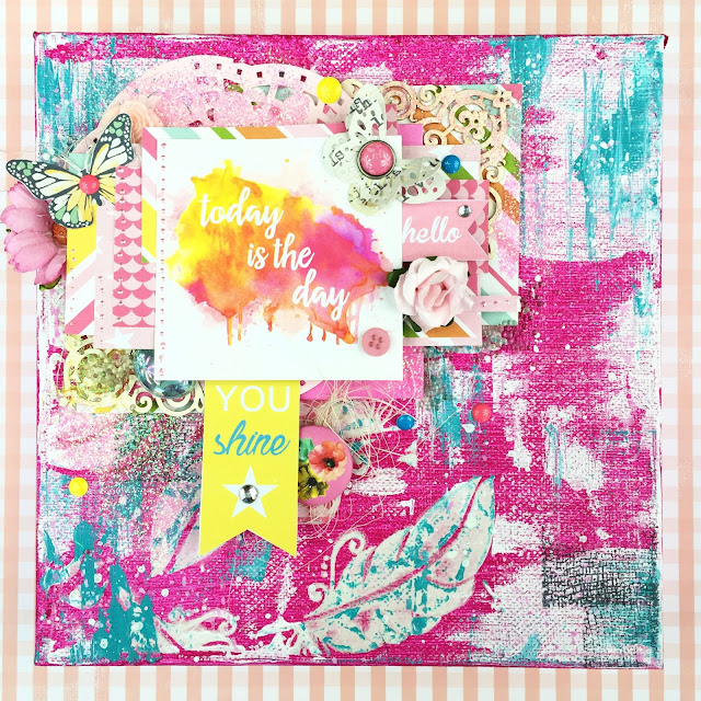 scrapbook canvas