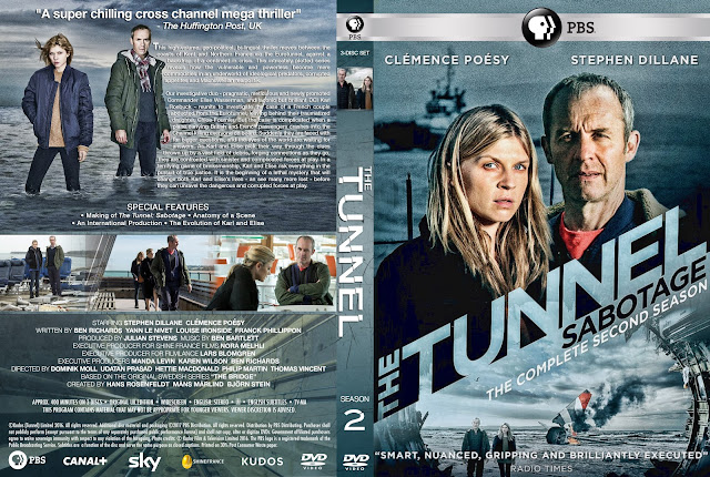 The Tunnel Season 2 DVD Cover