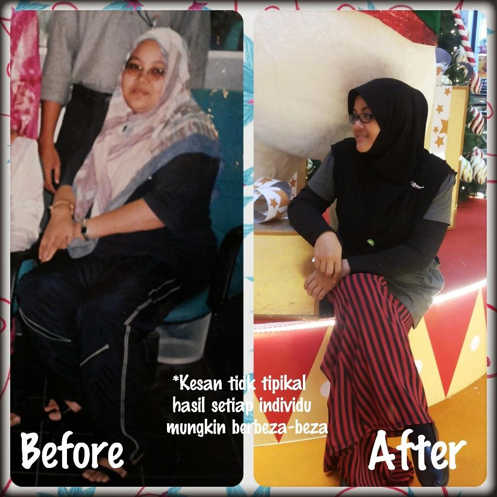 Berat Badan Saya Dah Turun 2 Kg selepas Amalkan Milkbooster