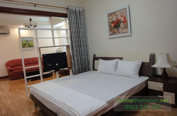 Cho thuê một số căn hộ tại The Manor 2 - giường ngủ