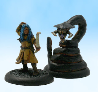 Pathfinder RPG Miniature Conversion Elf Summoner