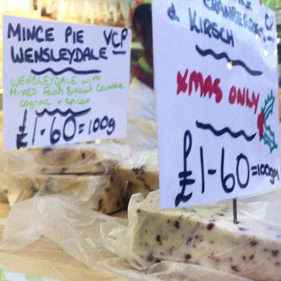 Creating a perfect Cheese Board with Matthew's Cheese Shop | The Grainger Market, Newcastle - cheese counter