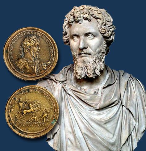 Resultado de imagem para Lucius Septimius` victory coin