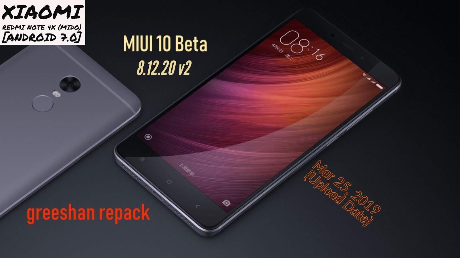 😝 Miui 10 android 8 redmi note 4x | Download MIUI 10 2 8 0
