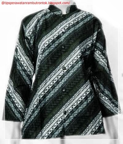 Batik Terbaru Untuk Kerja Gambar Model Baju Batik Gamis Pesta Wanita