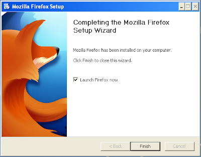 Mozilla Firefox has been installed on your computer