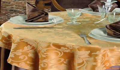 Fete de masa damasc - satinat restaurant - Bucuresti