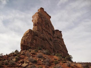 Independence Monument home of Otto's Route (5.8, 4 pitches) in Colorado