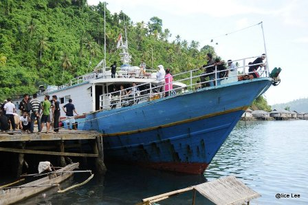 Ampana To Togian Islands Ferry