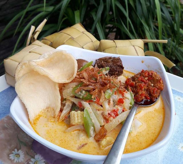 Resep Masakan Ketupat Sayur Ala Rumahan