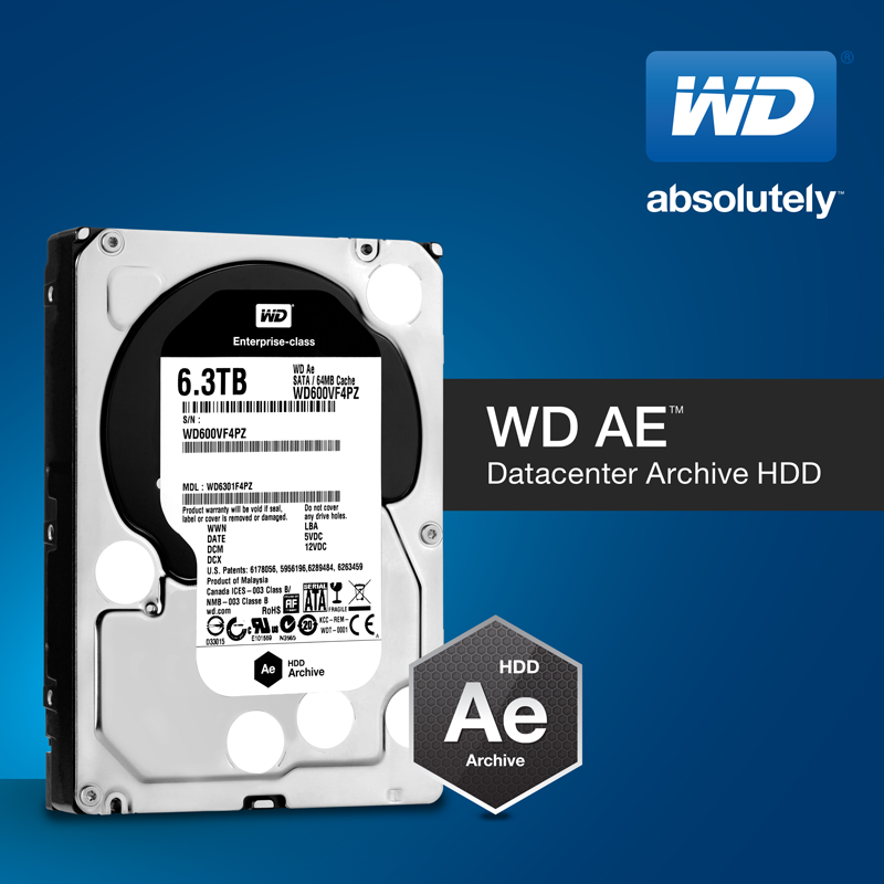 WD AE Datacenter Archive HDD