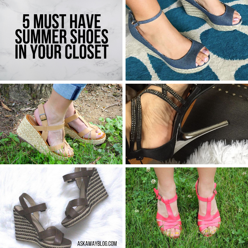 official photos new list catch Ask Away Blog: 5 Must Have Summer Shoes in Your Closet
