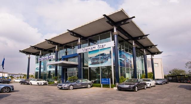 Mercedes Hà Nội tọa lạc trên khuôn viên với tổng diện tích gần 6000 mét vuông