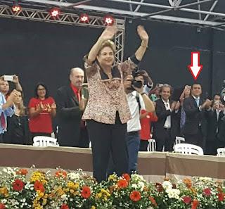 Em Picuí, deputado Buba é anti-Dilma mas o lado de Ricardo aplaude a Presidente