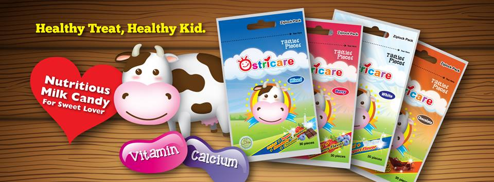 [Review] Ostricare Milk Candy for Sweet Lover - Healthy Treat for Healthy Kid