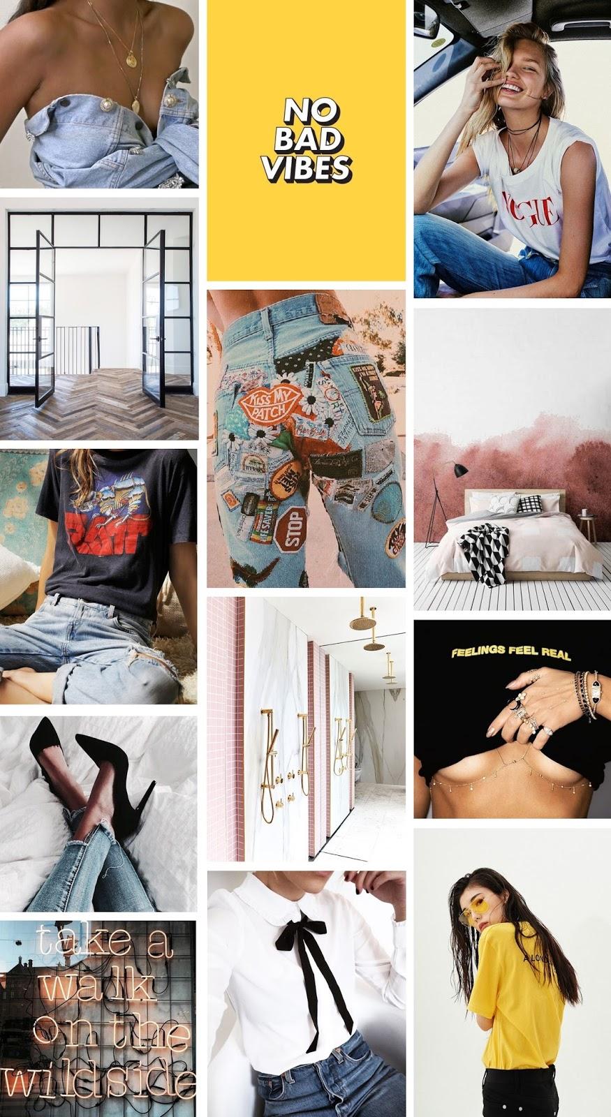 fashion inspiration moodboard