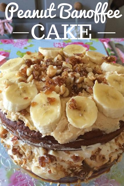 Peanut Banoffee Cake