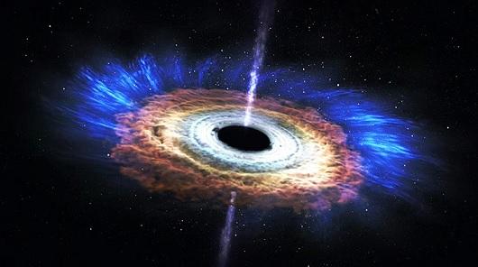 Agujero negro devora una estrella