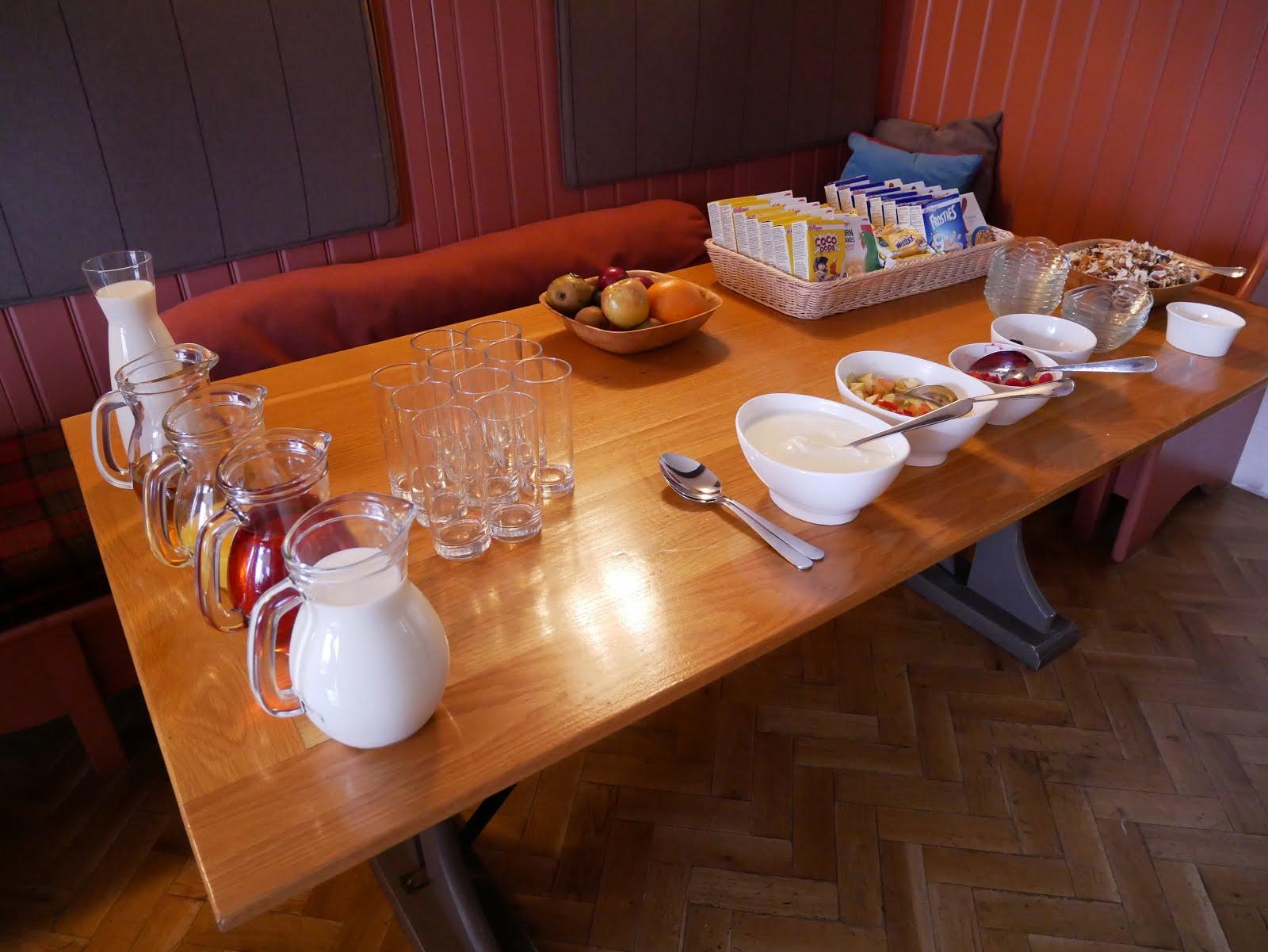 St Mary's Inn breakfast
