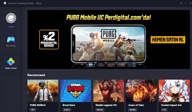 Tombol-Tombol Shortcut di Emulator Tencent Gaming Buddy