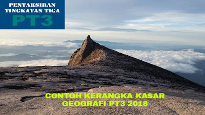 Contoh Kerangka Kasar Tugasan Geografi PT3 2018