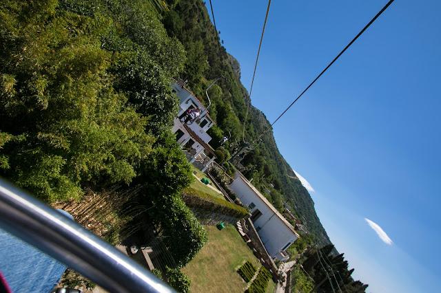 Seggiovia per il Monte Solaro-Anacapri-Capri