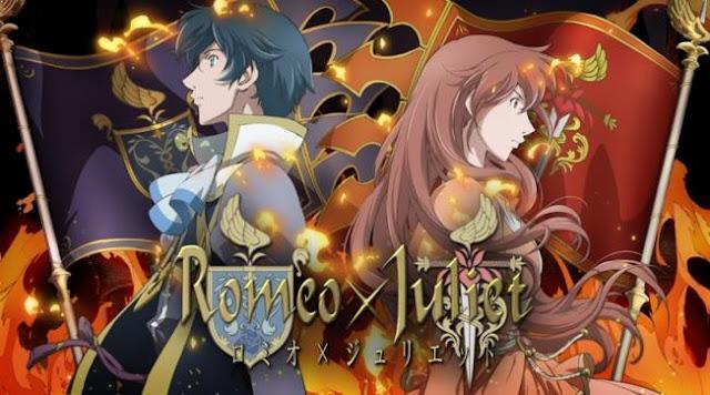 Anime Drama Romance Terbaik - Romeo x Juliet