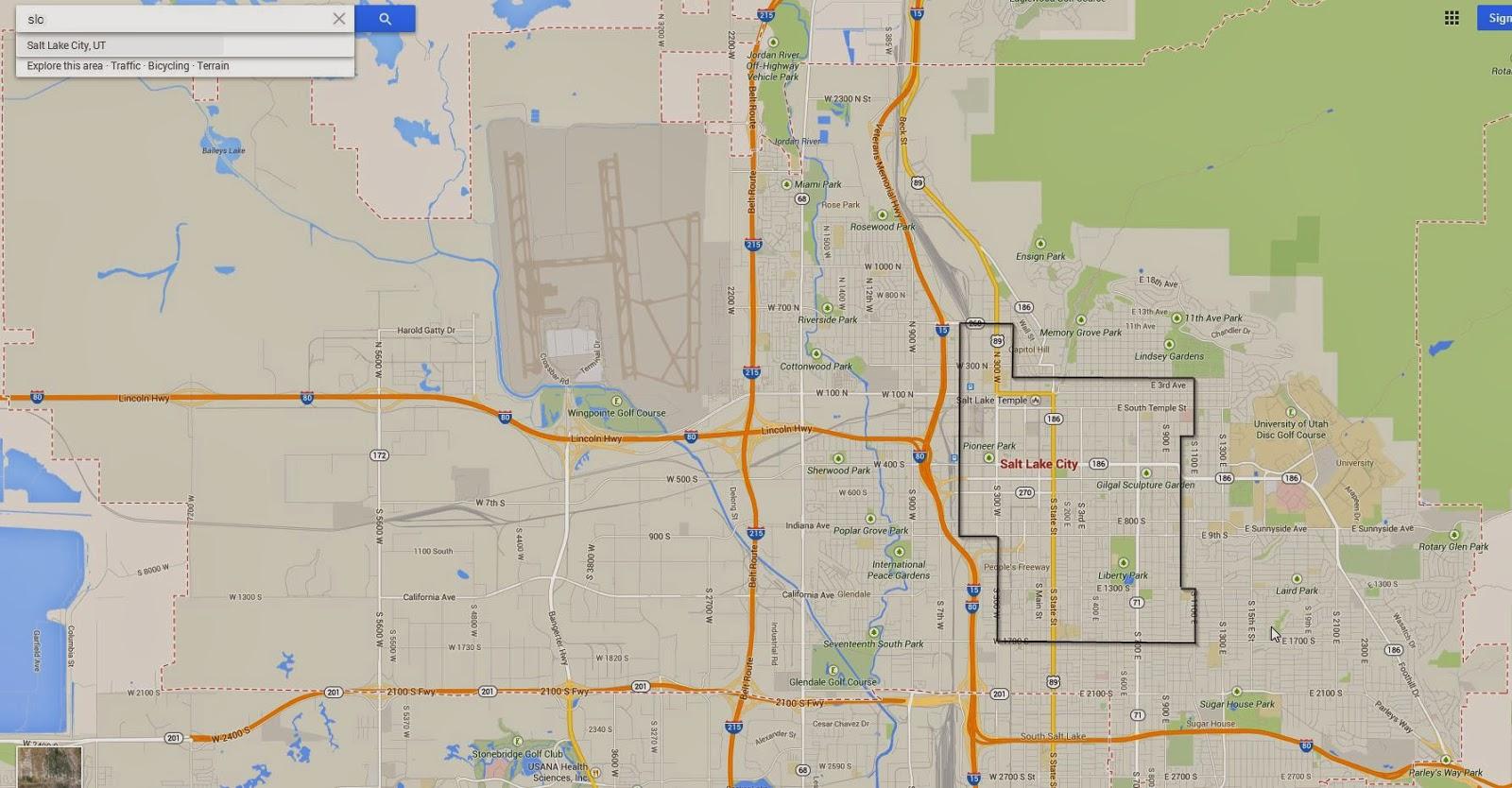 Salt lake city utah google maps infolakes google fiber usa map wall hd 2018 salt lake city publicscrutiny Choice Image