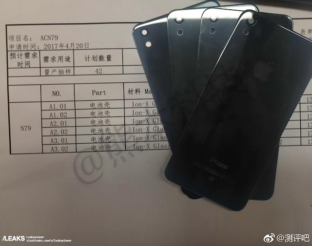 A photos of the rear panels of updated version of iPhone SE 2 has been leaked to the internet by Slashleaks. The rear panels are made up of same glass