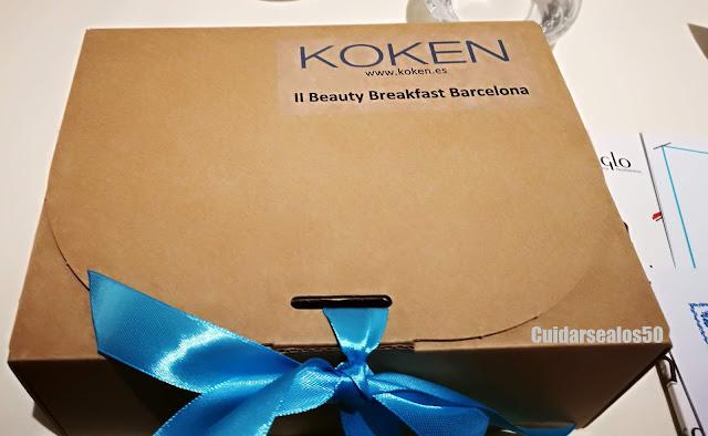 Caja de Koken, personalizada para el evento