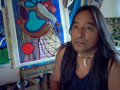 Moses Beaver Anishinaabe artist