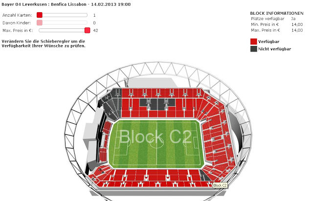 A promessa de lfv sobre bilhetes e quotas for Piso 0 estadio da luz