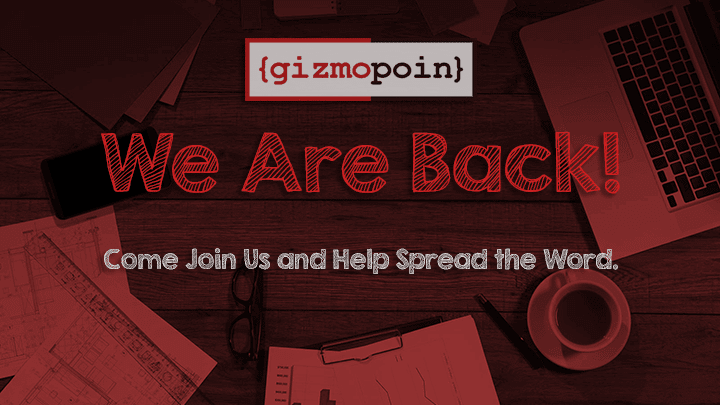We Are Back! Come Join Us and Help Spread the Word.