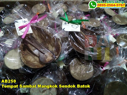 Harga Tempat Sambal Mangkok Sendok Batok