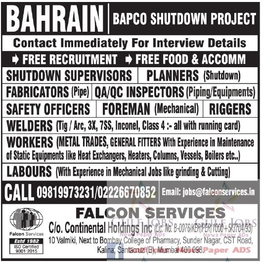 The Bapco Shutdown Jobs {Forum Aden}