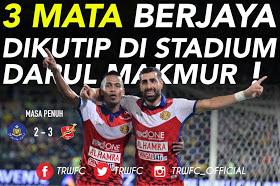 Highlight Pahang 2 - 3 Kelantan 6 Mei 2017 - Ghaddar Bisa Jinakkan Tok Gajah
