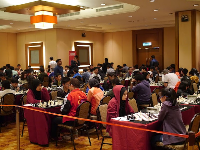 Malaysian Open 2017: Round 3 Interactive Crosstable