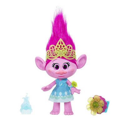 JUGUETES - DreamWorks TROLLS Poppy Momento Abrazo : Muñeca Interactiva Hasbro B6568 | PELICULA 2016 | A partir de 4 años Comprar en Amazon España