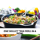 "ONE SKILLET ""EGG ROLL IN A BOWL"