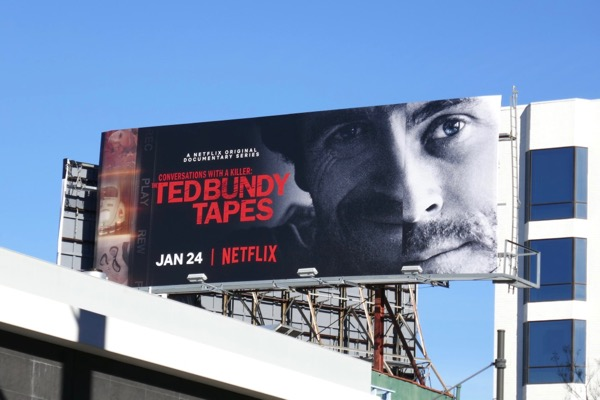 Ted Bundy Tapes documentary series billboard