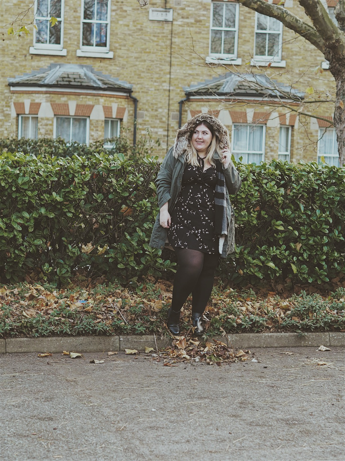 Plus Size Parka Coat With Faux Fur Yours Clothing Review