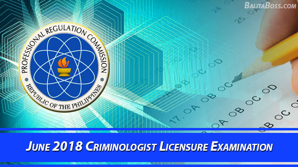Criminologist June 2018 Board Exam
