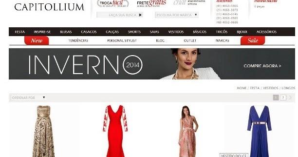 a2821eb28cc2 Onde comprar vestidos de festa pela internet - Madrinhas de Casamento