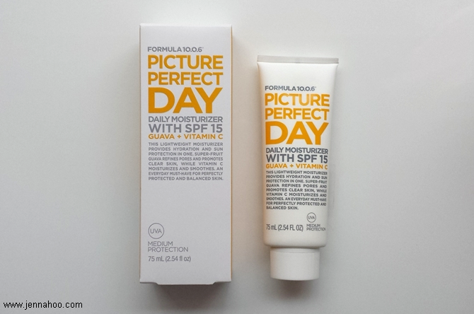 Formula 10.0.6 Picture Perfect Day Daily Moisturizer REVIEW